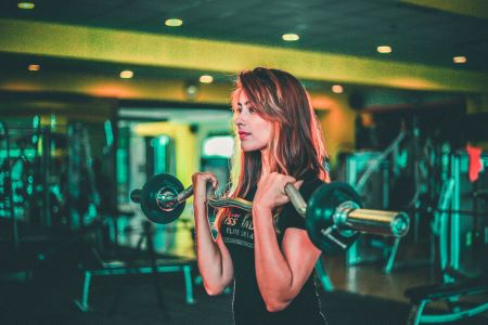 lift weights the right way with good form