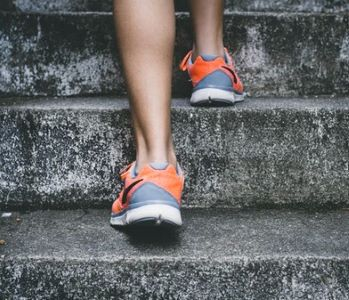 how to get healthy - put one foot in front of the other right now